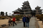 Jen and Calley at Matsumoto Castle