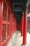 Painted hallway/porch in the forbidden city